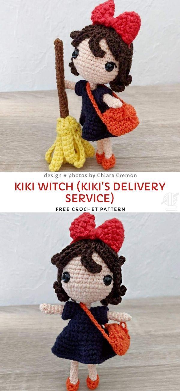 Wee Witch Amigurumi Free Pattern ⋆ Crochet Kingdom | 1300x600