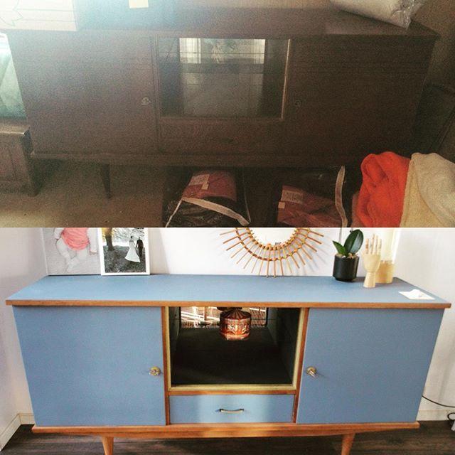 DIY avant-après sur mon blog #diy #avantapres #vintage #meublevintage #meublediy #madecoamoi #littlevintagelovers #blogfamily