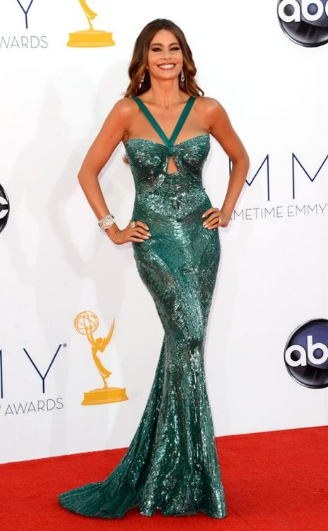 with a body like this, Sofia Vergara wearing Zuhair Murad, never fails to ooze sex appeal