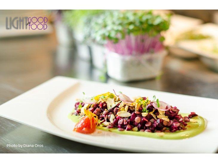 salata linte, sfecla, mousse de busuioc 4