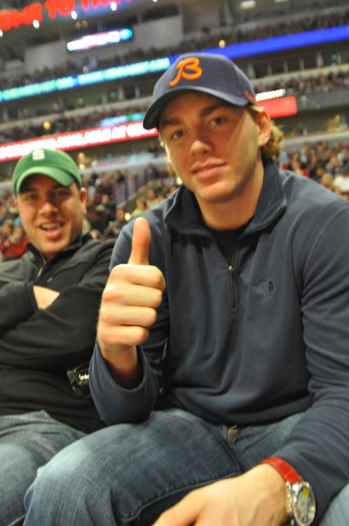Love that cap, Kaner!