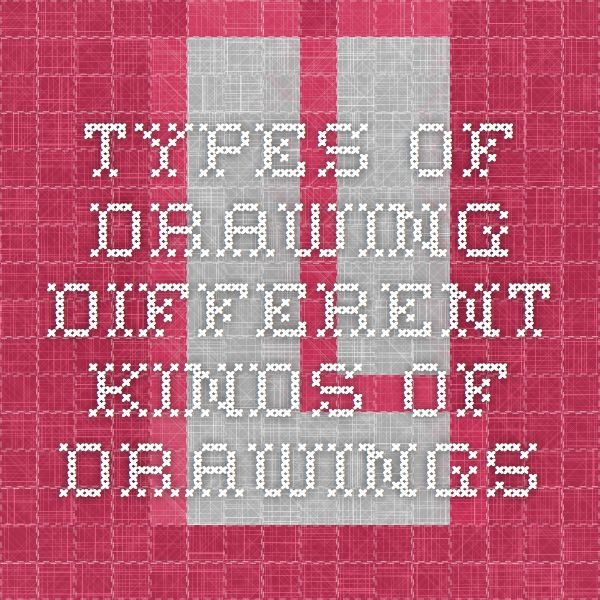 Types Of Drawing - Different Kinds Of Drawings