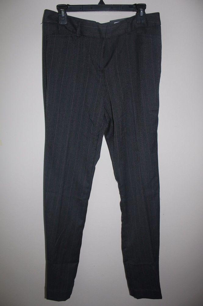 6557fa345bc7 Worthington Womens Modern Fit Pants size 8 grey herringbone trouser leg new  #fashion #clothing #shoes #accessories #womensclothing #pants (ebay link)
