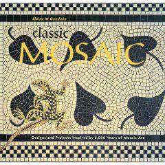 Art Mosaic Book - modern and Roman Byzantine ancient Mosaics