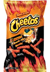 CHEETOS® Crunchy XXTRA FLAMIN' HOT® Cheese Flavored Snacks