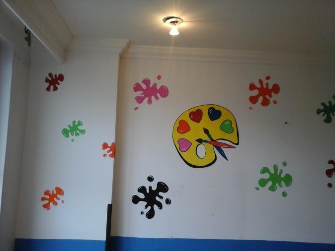 Decoraciones de salon de clases arte buscar con google - Decoracion de salones pintura ...
