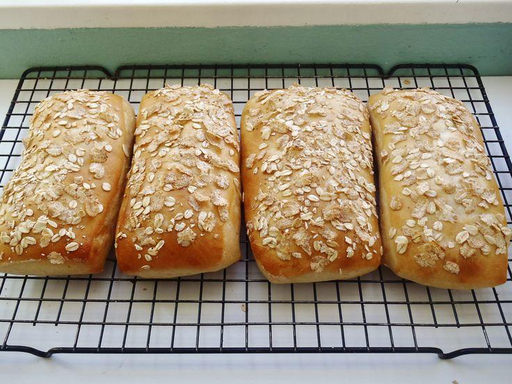 Pan con avena para sanduches