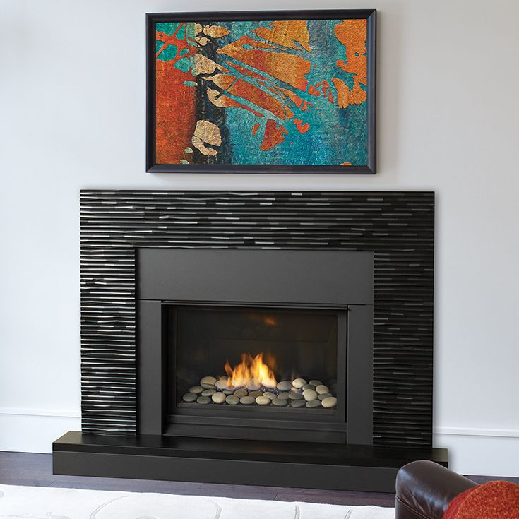 modern fireplace wall fire black surripui net gas