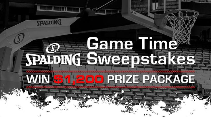 WIN a Spalding basketball hoop and basketballs to outfit your driveway for game time!