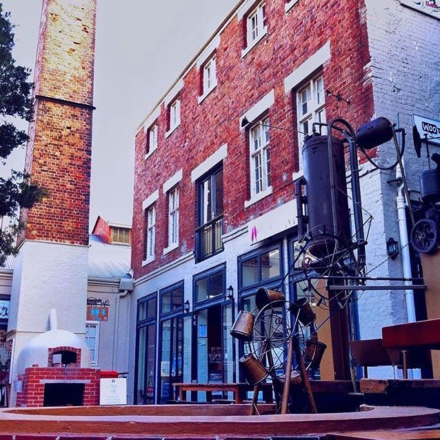 The Old Biscuit Mill!. Woodstock.