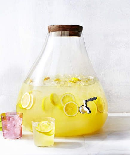 Lemonade Concentrate | The beauty of instant lemonade is that you can keep it around for ages. The obvious downside is that it's nowhere near as delicious as the homemade version (and often full of artificial ingredients). Luckily, it's easy to make a lemonade concentrate that you can store in the refrigerator for up to 3 weeks or in the freezer for up to 6 months. Most lemonade recipes instruct you to make a concentrat...
