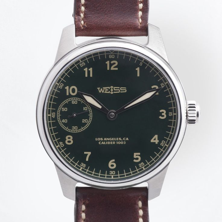 American Issue Field Watch <br> Green Dial with CAL 1003