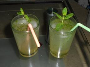 Limonana Israelische Minz- Limonade