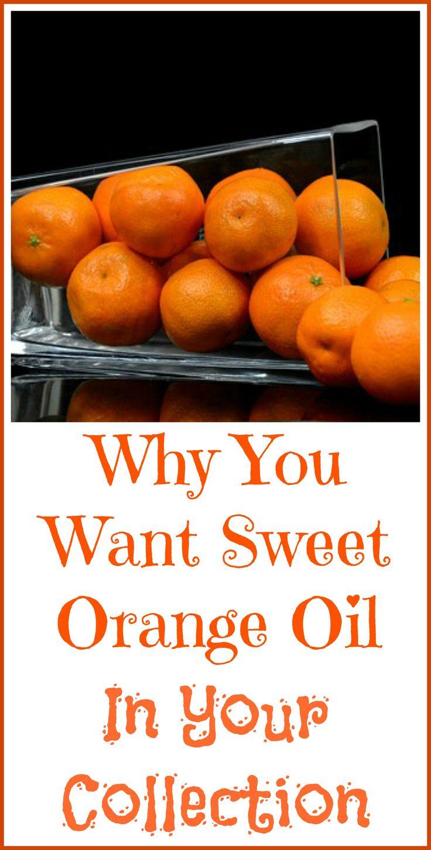 Why sweet orange essential oil is so useful.