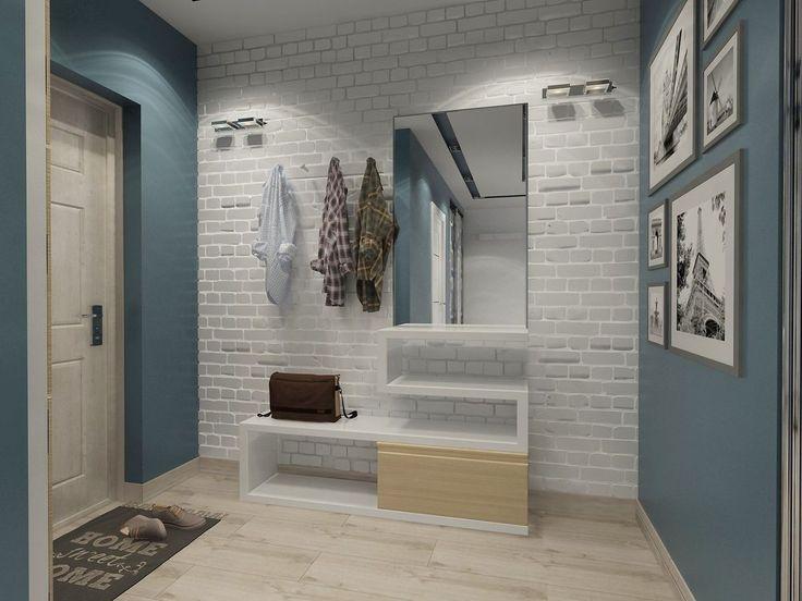 Новыйl Варианты интерьера в Прихожей: 225+ Фото Оформлений (камень/ламинат/плитка/фреска/). Какой цвет стен лучше?