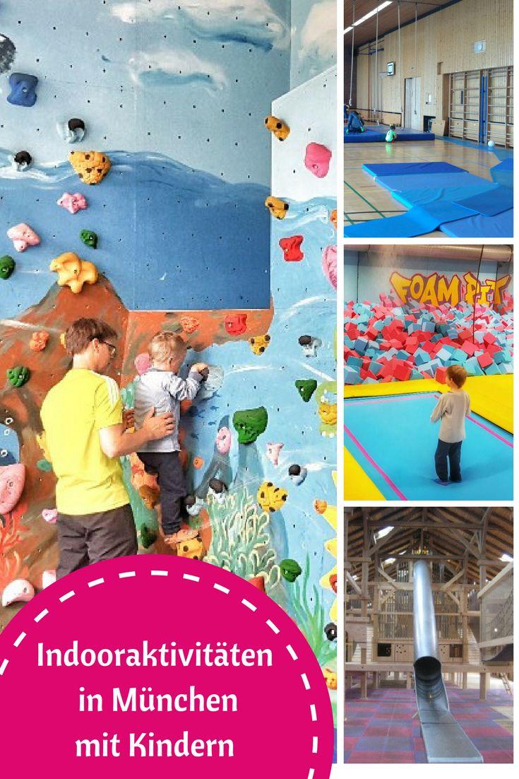 Schlechtes Wetter in München? Kein Problem mit diesen 70 Indoor-Aktivitäten für Familien.