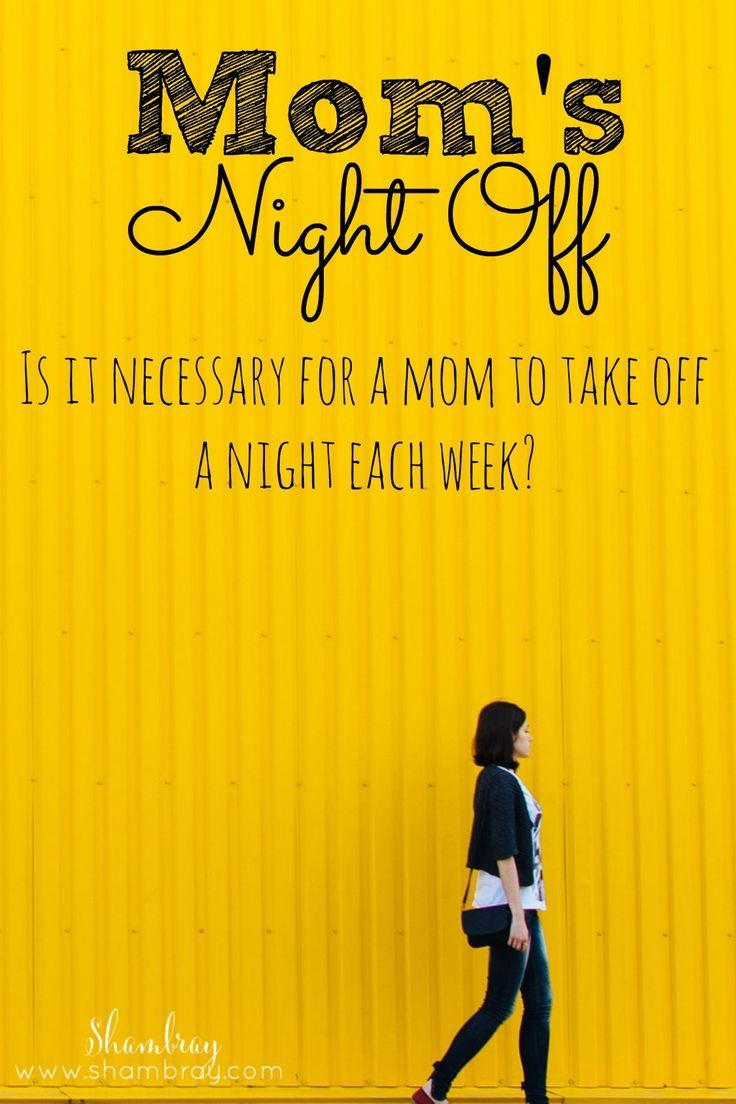 """Nights Off"" made me a better mom and wife"