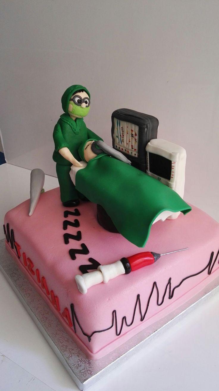 Torta personalizzata per un anestesista by Smoothly