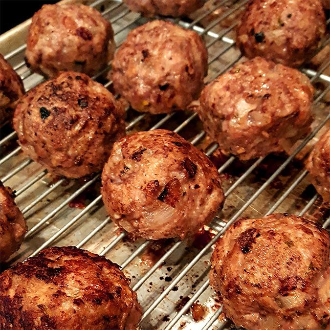 Perfect Meatballs With Ground Beef And Italian Sausage Ground Beef Italian Sausage Recipe Italian Sausage Recipes Italian Sausage