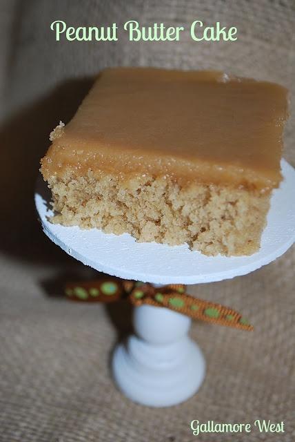 Peanut Butter Cake -