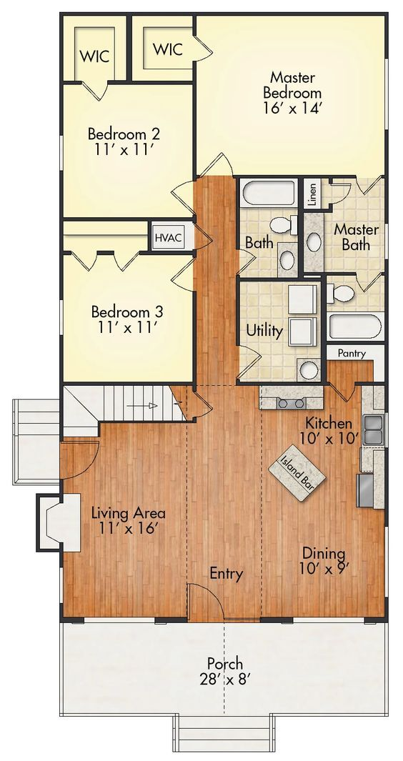 Aspen with Loft – House Plan | United Built Homes:…