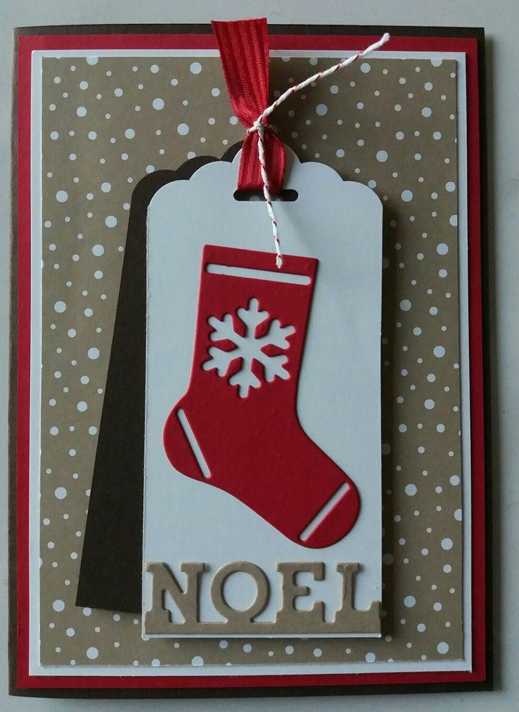 Hang your Stockings, Candy Cane DSP, gemaakt door Ilona de Bont, onafhankelijk Stampin Up! demonstratrice