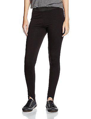 16 L32 (Manufacturer Size:16), Black, New Look Women's Stirup Leggings