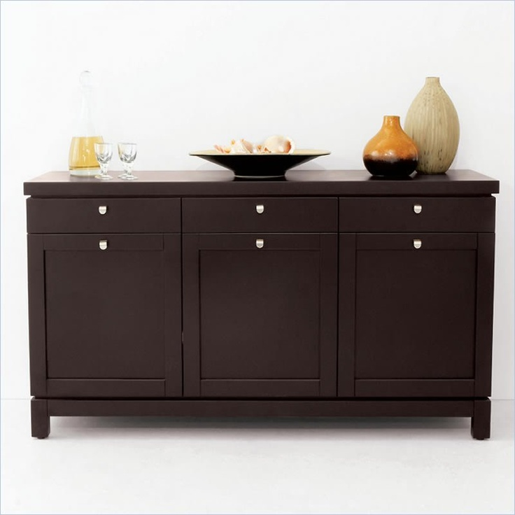 Buffet table  Does not lead to site  for purchase  I pinned for idea of building a buffett using base kitchen cabinets and adding legs
