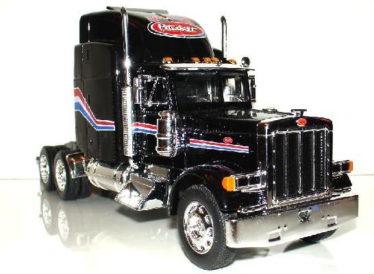 Tractor Trailer Head On : New peterbilt tractor trailer head die cast model