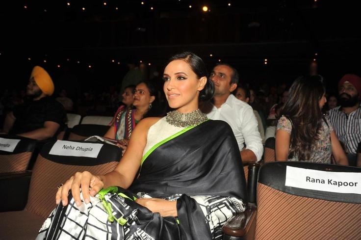 Neha Dhupia at Punjabi Icon Awards 2013.