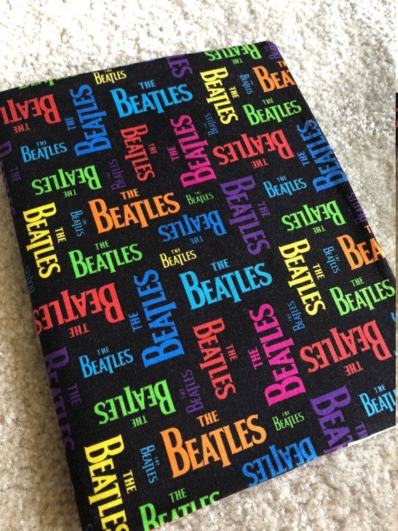 Beatles Ii Composition Book And Fabric Cover With