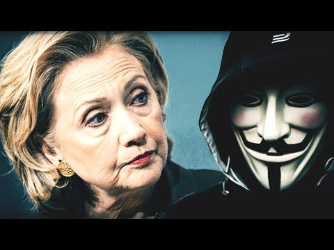 "Anonymous Hacker Video To Hillary: ""We Are About To Expose Everything!"" 