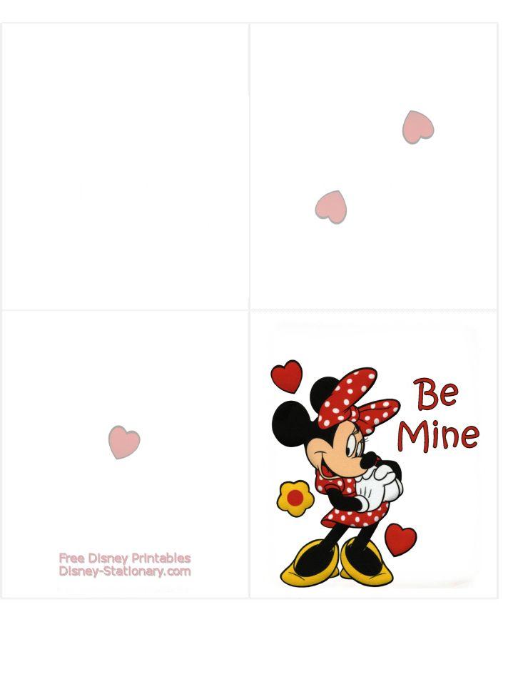 17 best images about Disney printables – Disney Valentine Cards Printable