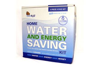 Water Saving Kit - 9 water saving devices to help you save water and energy in the kitchen and the bathroom. - £49.99