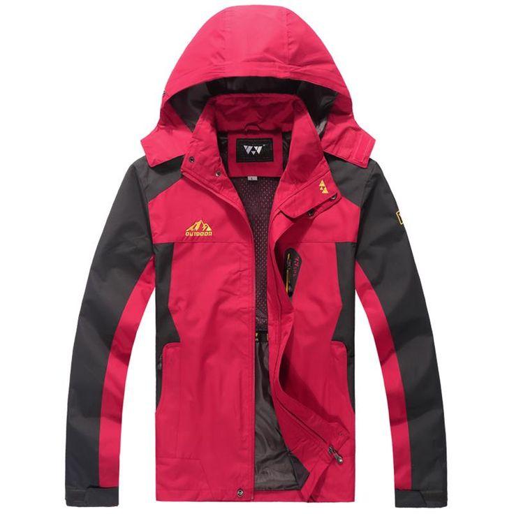 ==> [Free Shipping] Buy Best 8XL 7XL 6XL 5XL Autumn Men Waterproof Jacket plus size Jackets WindStopper Rain Windbreaker Online with LOWEST Price | 32810644320