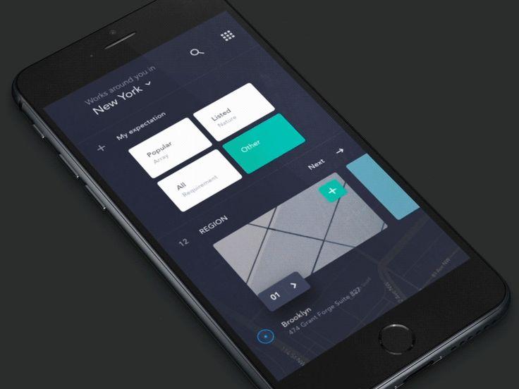 UI exercises #4/100 Recruitment App by Jadon7