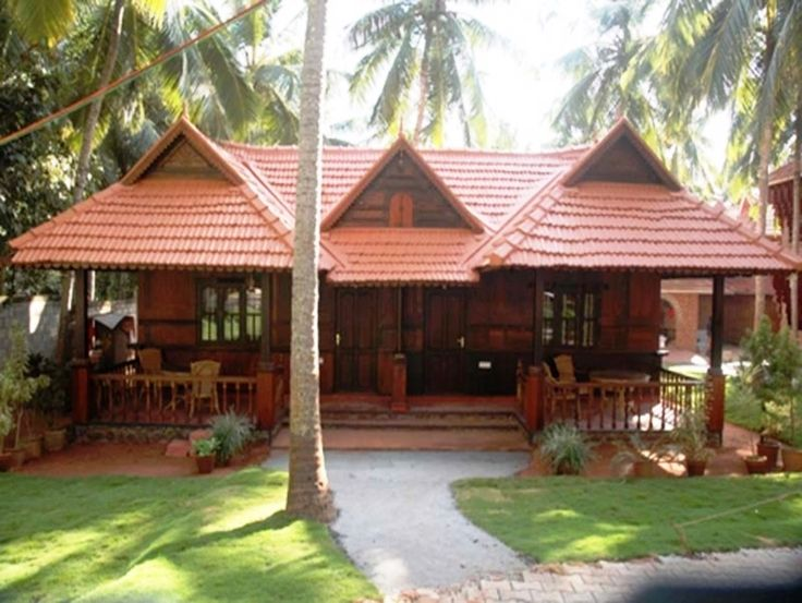 traditional style kerala farm house india images in 2020 ...