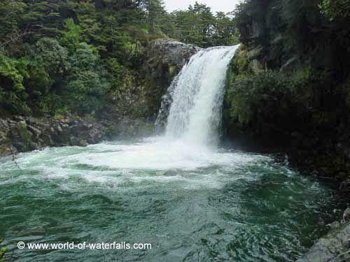 Tawhai Falls  Tongariro National Park, Manawatu-Wanganui, New Zealand