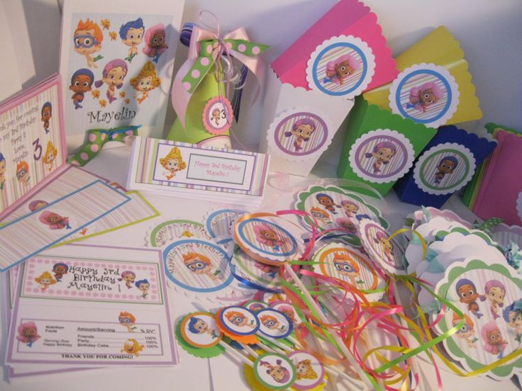 Bubble Guppies Birthday Ideas | ... And Sassy Designs By Bonnie: Bubble  Guppies