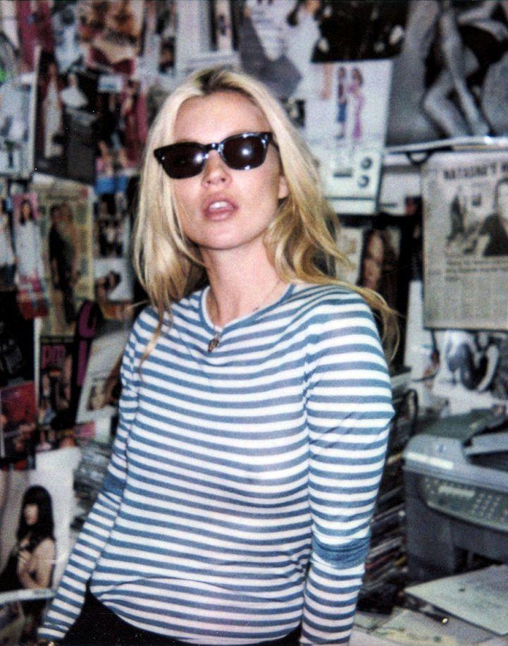 Kate Moss, una de las modelos más controversiales de la historia.