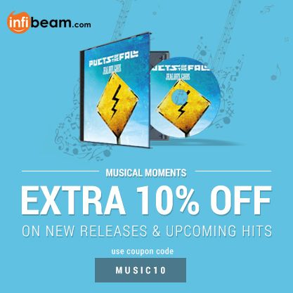 USE COUPON CODE: MUSIC10 &  Get EXTRA 10% OFF on NEW RELEASES & UPCOMING HITS !  #UpcomingHits #MusicOffers #Offer