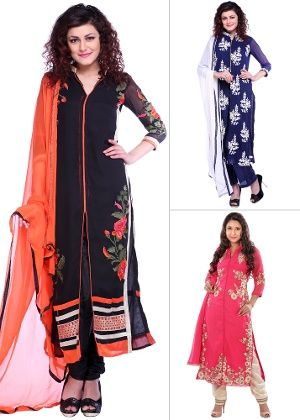 Women's Suit Set – Buy Online Salwar Suits for Women at Best Prices on Homeshop18. Get Unstitched, Semi-Stitched Salwar Suits and Dress Material with FREE Shipping and COD Options.