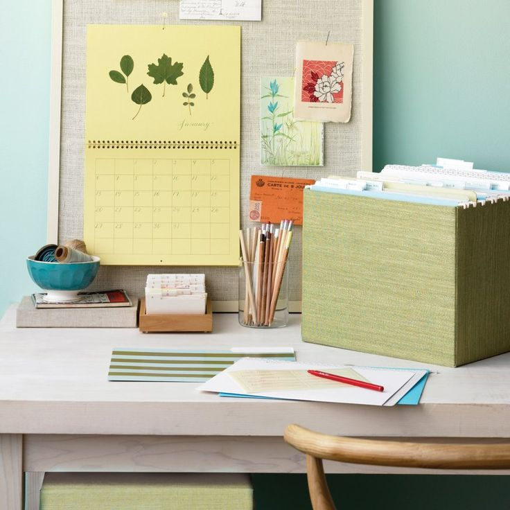 Cloth Storage-Box Covers  Add a splash of color to basic storage boxes. Cut a plus-sign shape out of book cloth, measuring fabric so each ...