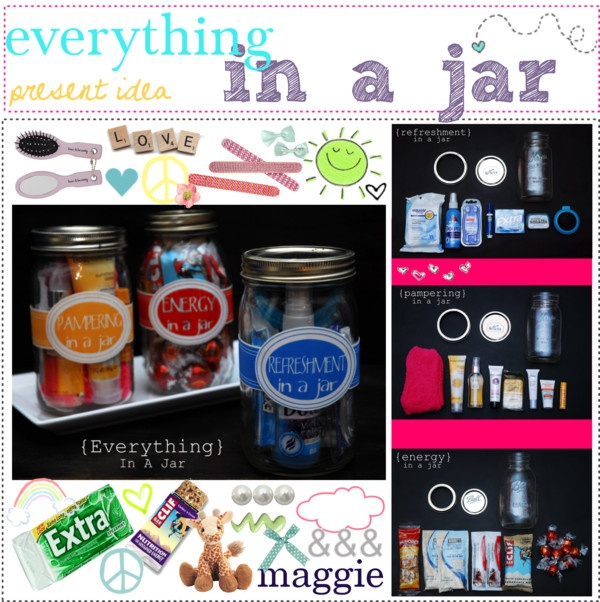 """""""Everything in a JAR, *gift ideaa. (:"""" by the-polyvore-tipgirls on Polyvore"""