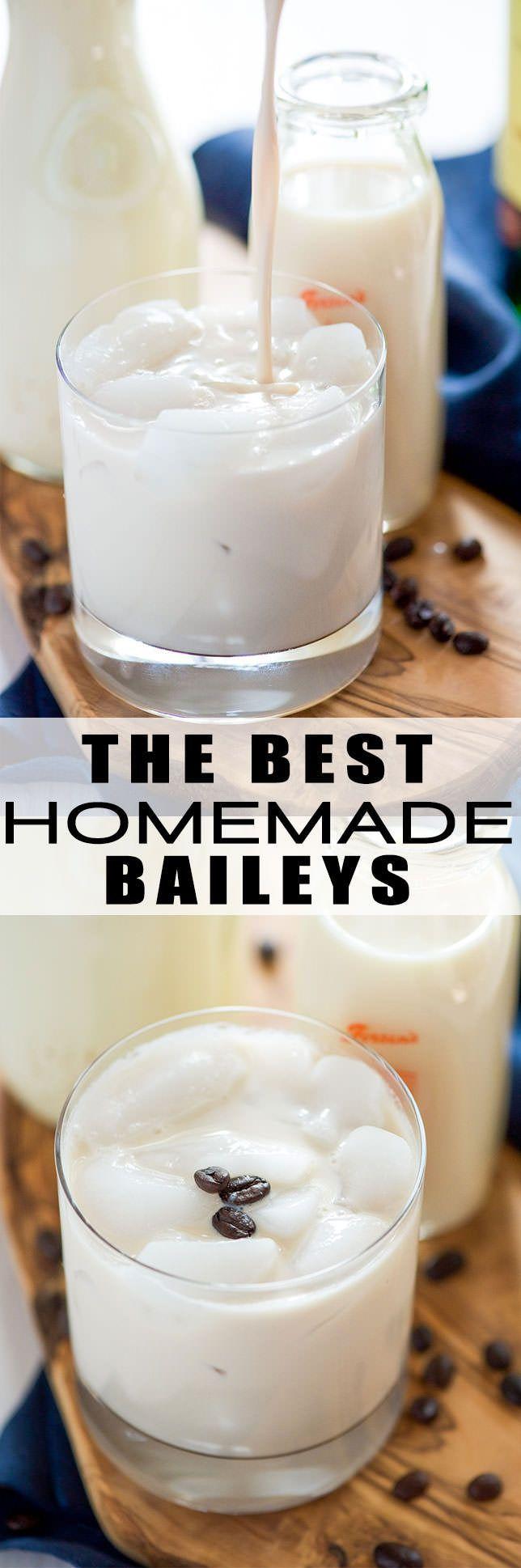 The Best Homemade Baileys Irish Cream