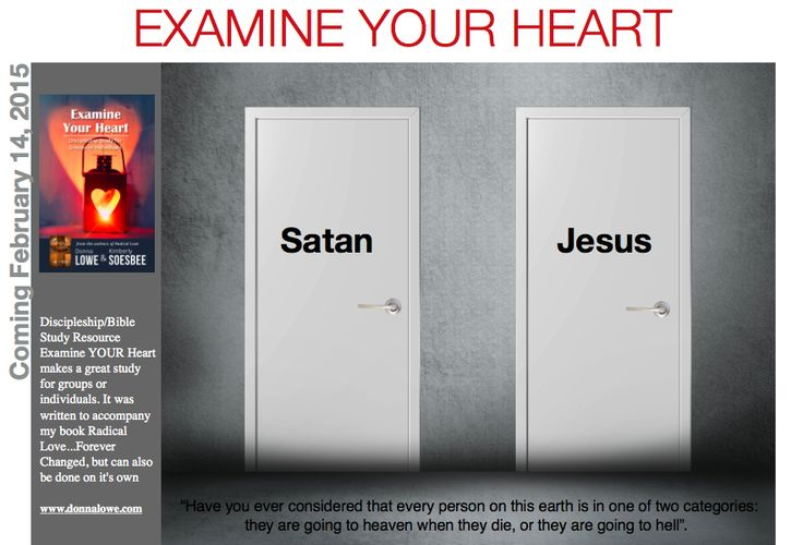 Exciting new Bible study, Examine YOUR Heart, will be released February 14, 2015.