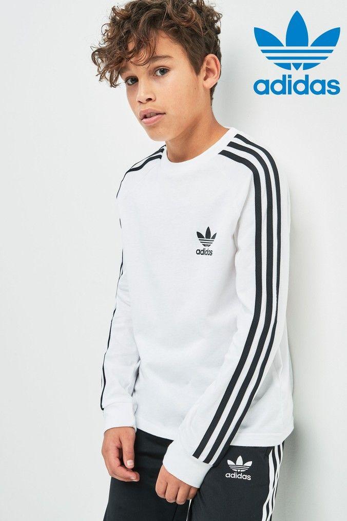Boys adidas Originals 3 Stripe Long