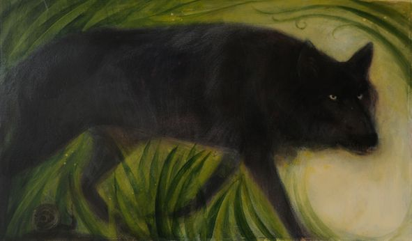 Little Evie in the Wild Wood by Jackie Morris, illustrations by Catherine Hyde