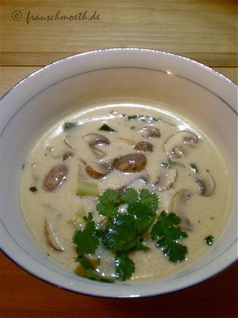 Frau S. verändert die Welt...: ...mit thailändischer Kokossuppe.