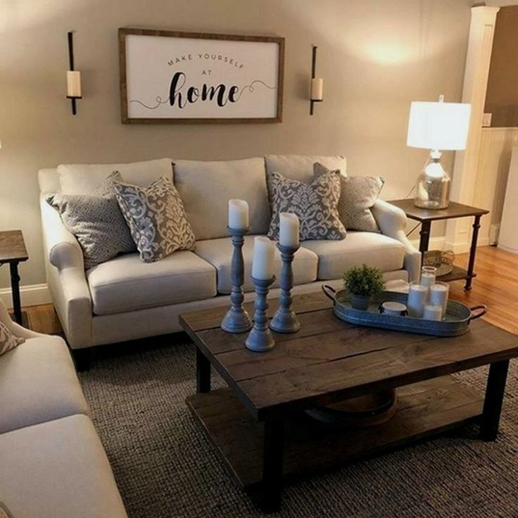 29 How To Decorate Your First Grown Up Apartment 32 How To Decorate Your Ro Farmhouse Decor Living Room Modern Farmhouse Living Room Farm House Living Room
